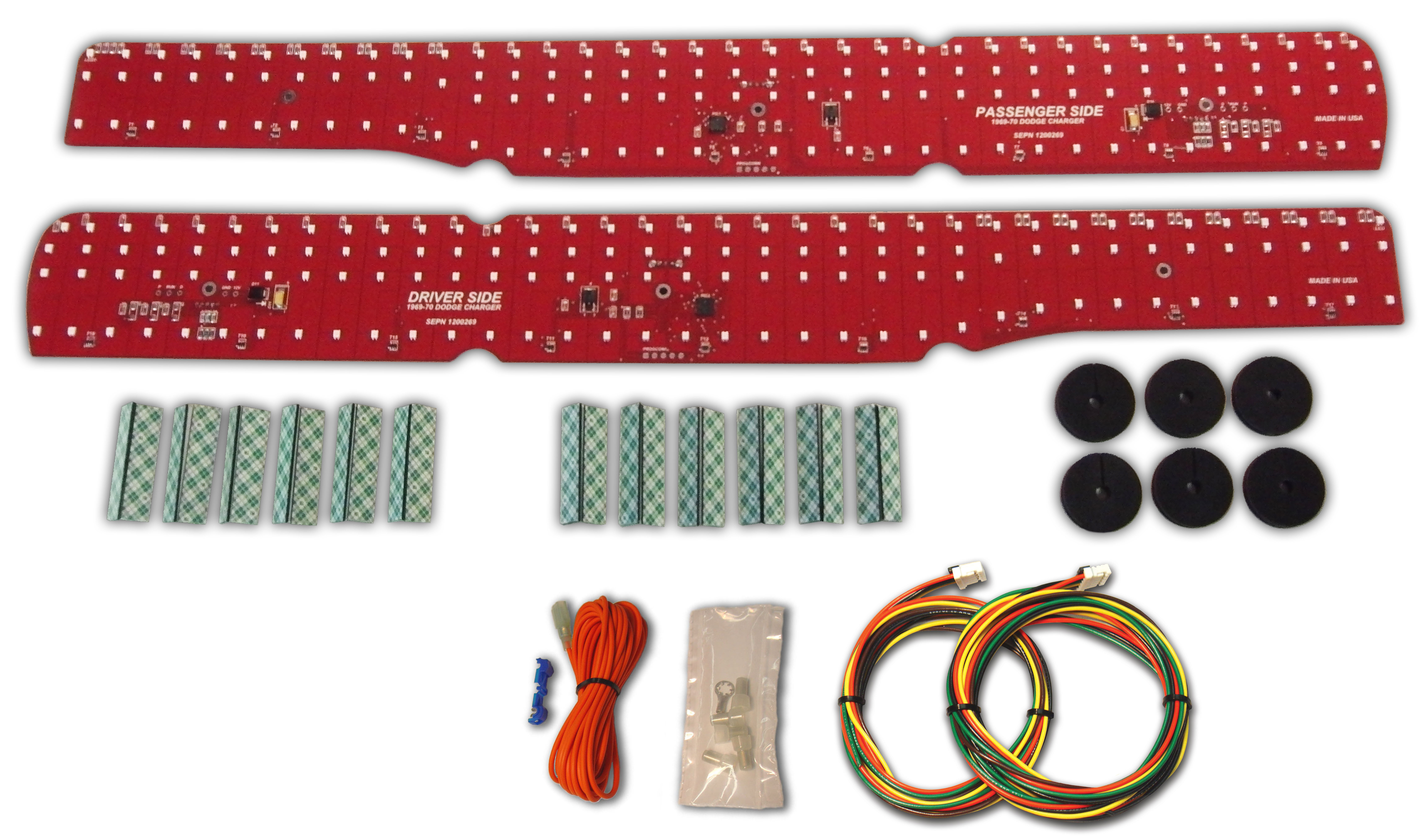 1969 1970 Dodge Charger Led Tail Light Panels Digi Tails 1974 Challenger Wiring Harness