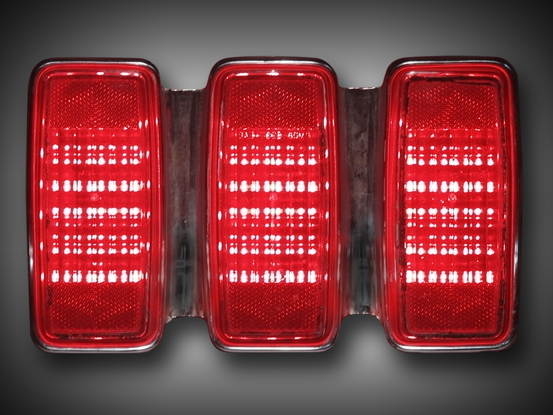 1969 ford mustang led tail light panels