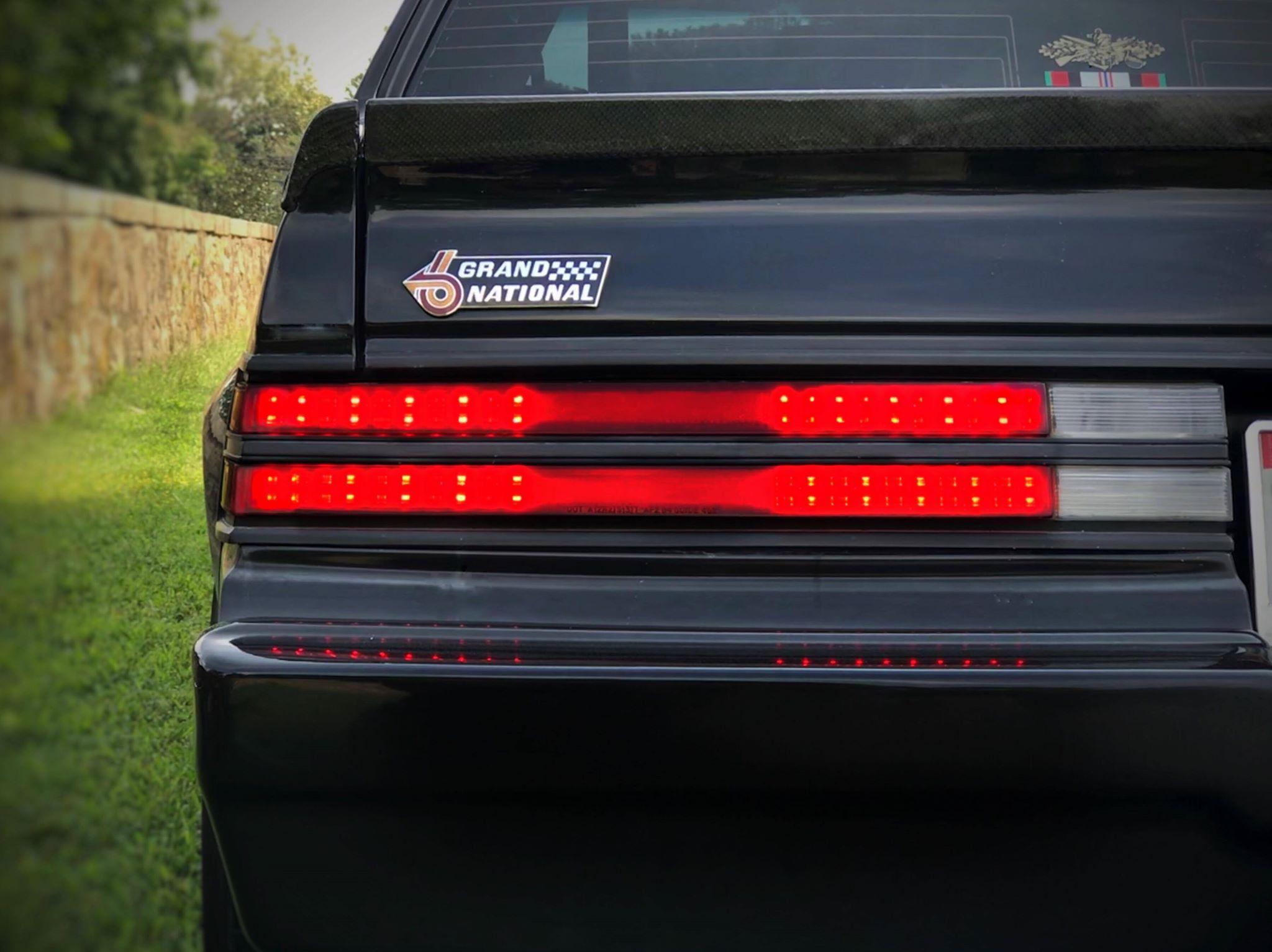 1983 1987 Buick Regal Grand National Digital Tail Light Panels